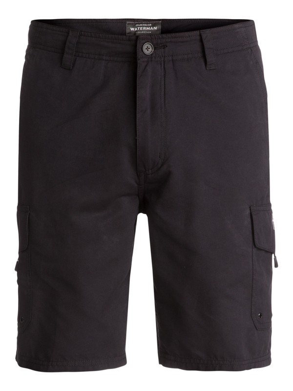 0 Waterman Maldive Shorts Black AQMWS03043 Quiksilver