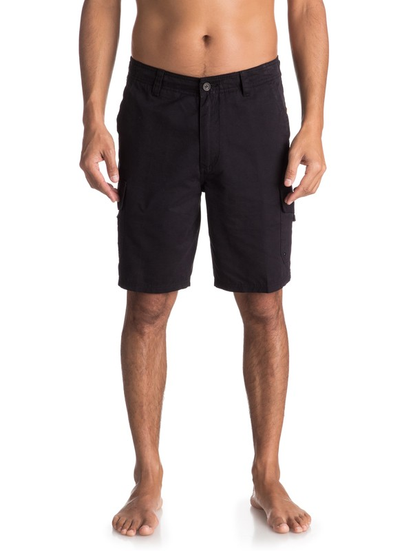 "0 Waterman Maldive 20"" - Cargo Shorts Black AQMWS03043 Quiksilver"