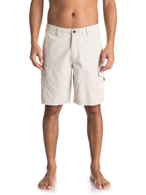 "0 Waterman Maldive 20"" - Cargo Shorts Grey AQMWS03043 Quiksilver"