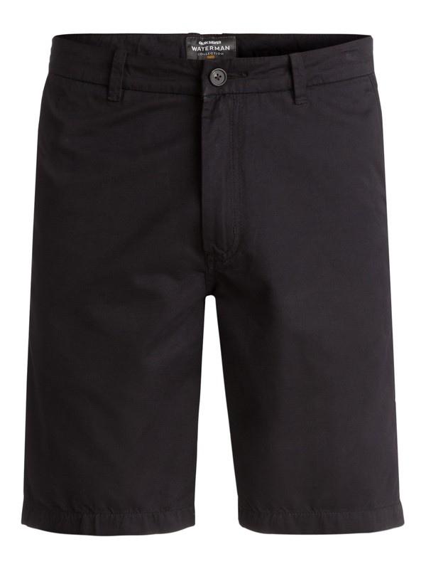 0 Waterman Maldive Chino Shorts Black AQMWS03058 Quiksilver