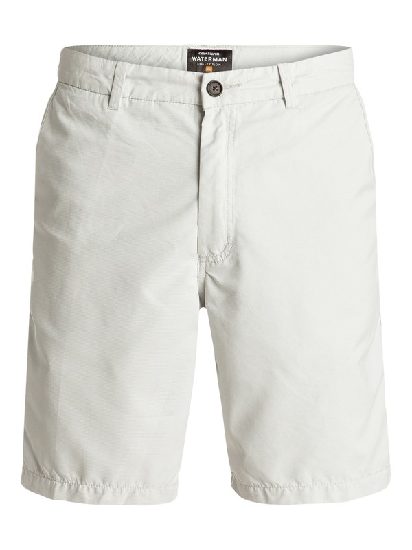 0 Waterman Maldive Chino Shorts Grey AQMWS03058 Quiksilver