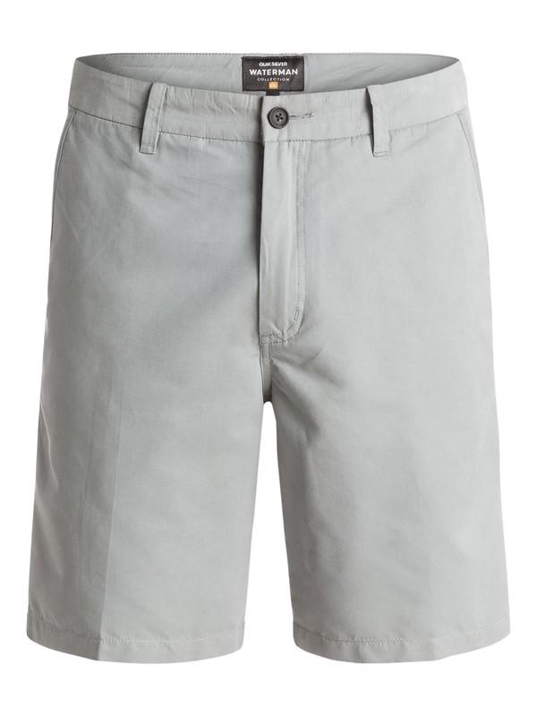 0 Waterman Maldive Chino Shorts Grey AQMWS03058 Quiksilver