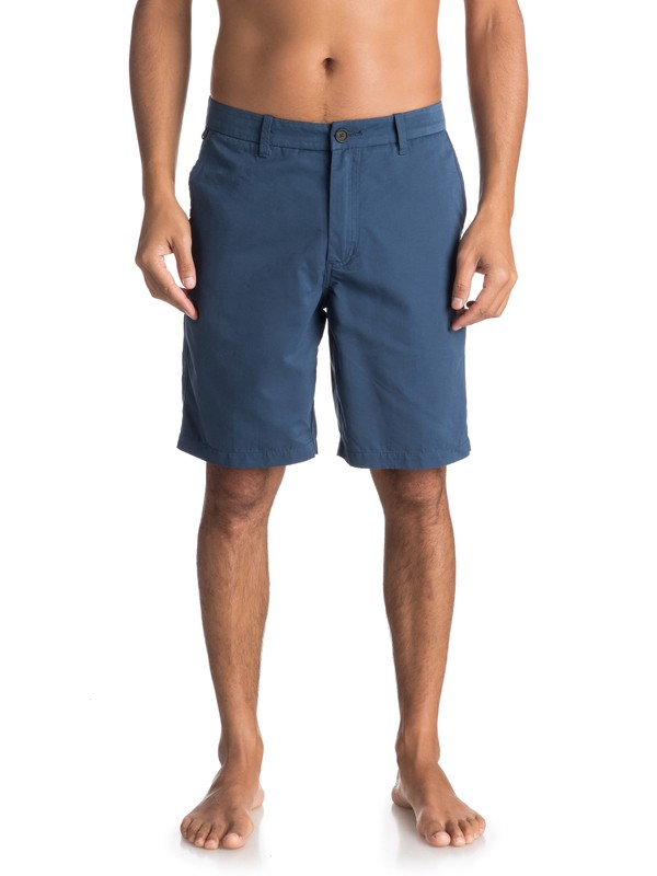 0 Waterman Maldive Chino Shorts Blue AQMWS03058 Quiksilver