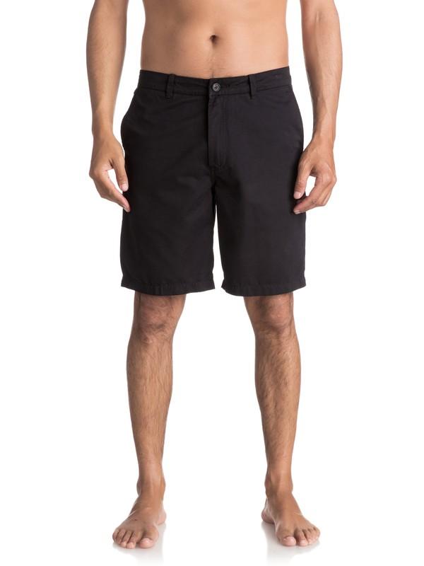 "0 Waterman Maldive 20"" - Chino Shorts Black AQMWS03058 Quiksilver"
