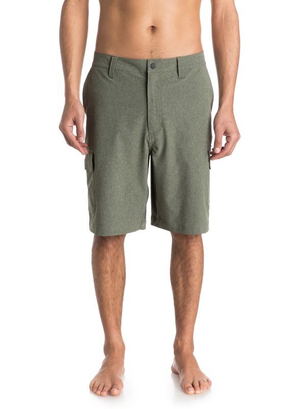 "0 Mens Burma 21"" Cargo Shorts  AQMWS03062 Quiksilver"