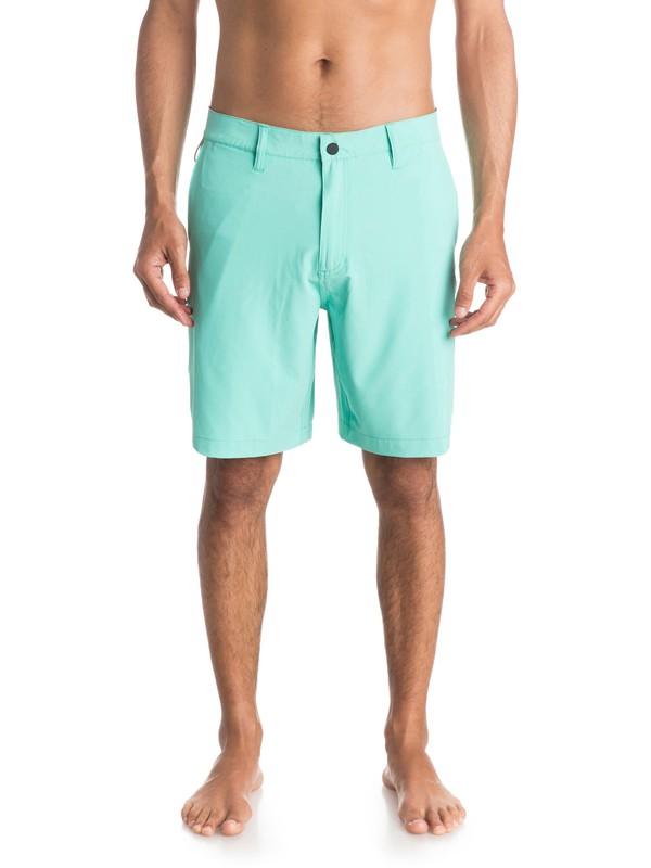 "0 Waterman Vagabond 20"" Amphibian Shorts  AQMWS03077 Quiksilver"
