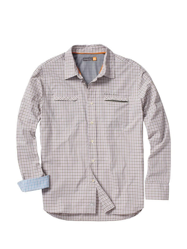 0 Men's Marine Bar Long Sleeve Shirt  AQMWT00002 Quiksilver