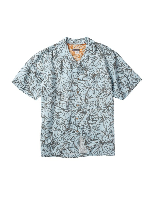 0 Men's Vai Uri Short Sleeve Shirt  AQMWT00013 Quiksilver