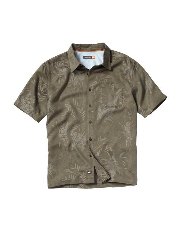 0 Men's Panui Cove Short Sleeve Shirt  AQMWT00032 Quiksilver