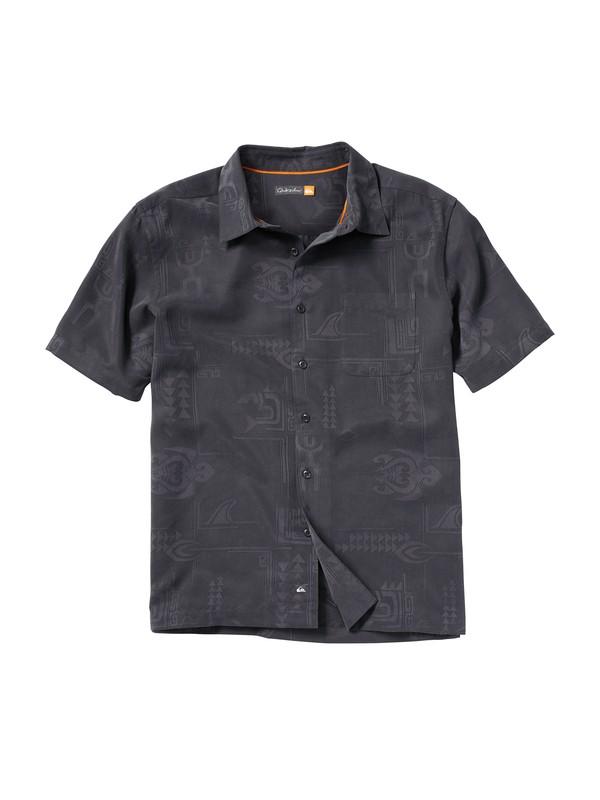 0 Men's Waikomo Short Sleeve Shirt  AQMWT00033 Quiksilver