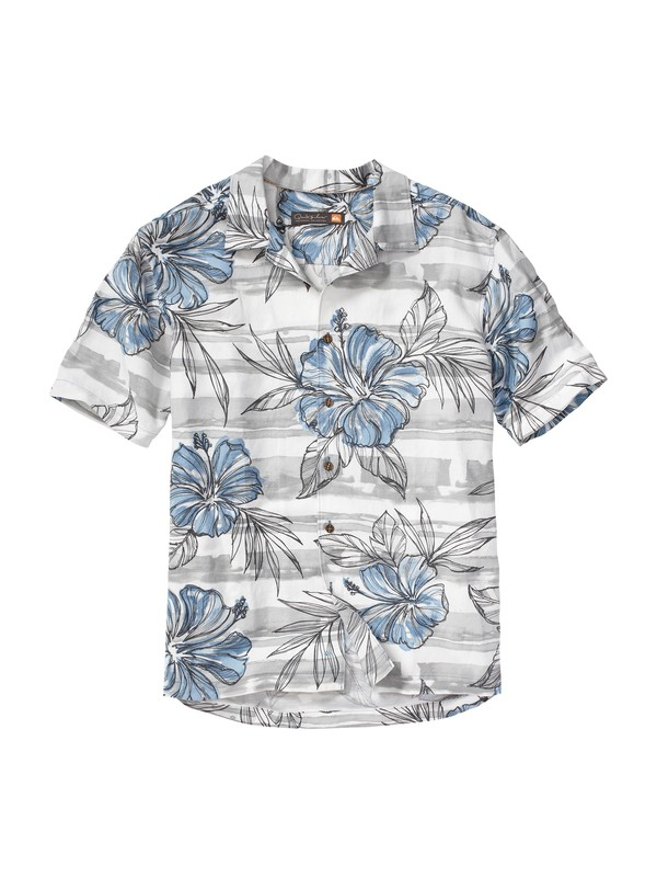 0 Men's Aviones Short Sleeve Shirt  AQMWT00048 Quiksilver