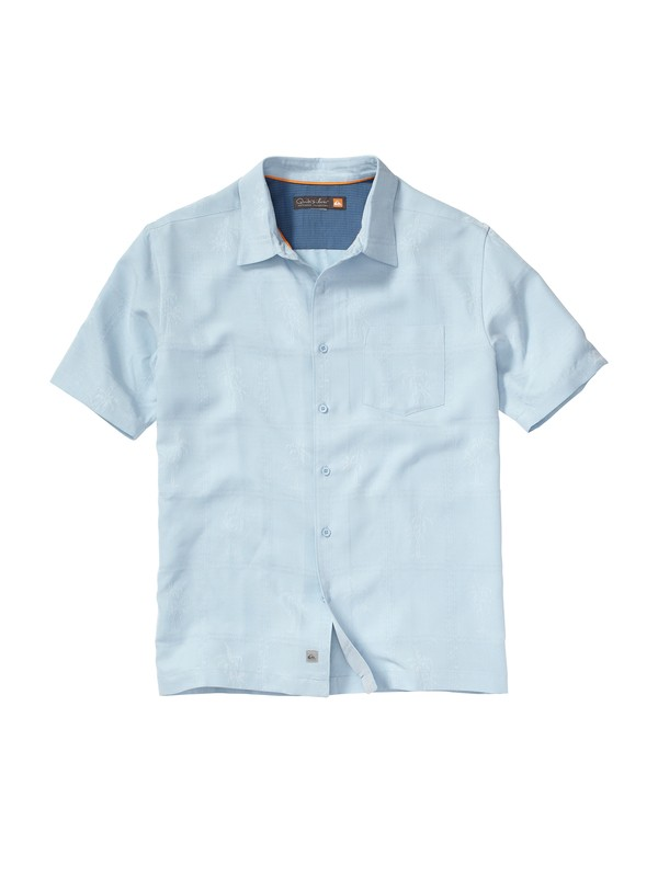 0 Men's Crossroads Short Sleeve Shirt  AQMWT00053 Quiksilver