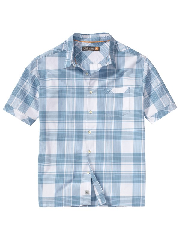 0 Men's Seal Beach Short Sleeve Shirt  AQMWT00055 Quiksilver