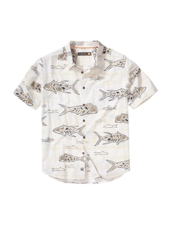0 Men's Fisherman's Short Sleeve Shirt  AQMWT00057 Quiksilver