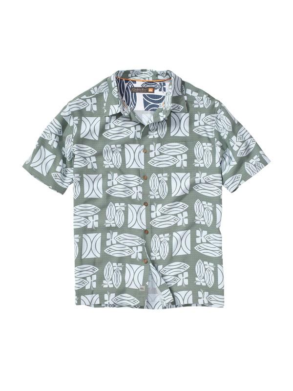 0 Men's Lahaina Short Sleeve Shirt  AQMWT00062 Quiksilver
