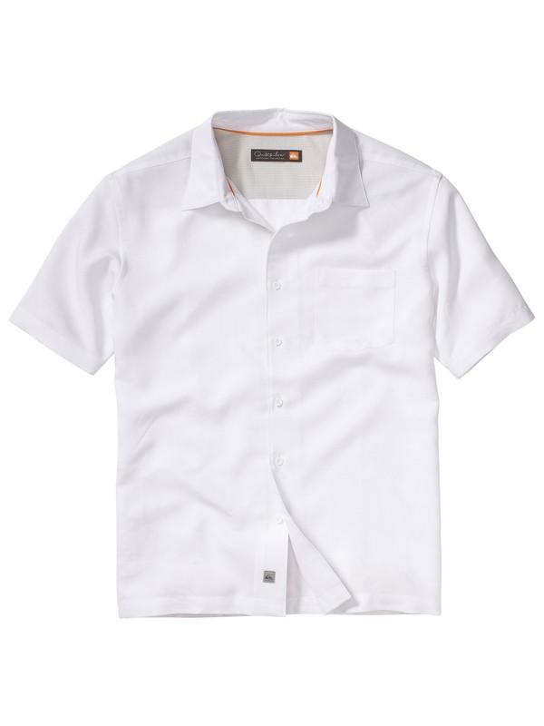 0 Men's Lantana Beach Short Sleeve Shirt  AQMWT00063 Quiksilver