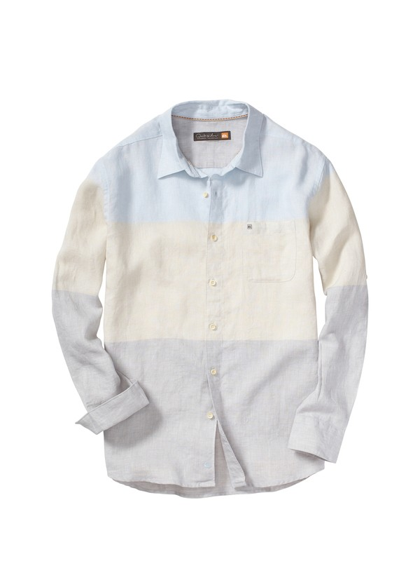 0 Men's Horizon Long Sleeve Shirt  AQMWT00077 Quiksilver