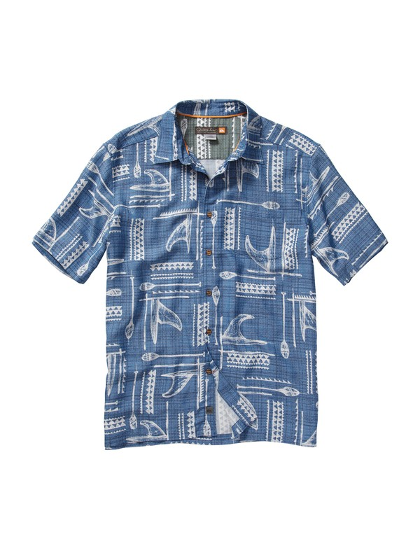 0 Men's Hapuna Bay Short Sleeve Shirt  AQMWT00084 Quiksilver