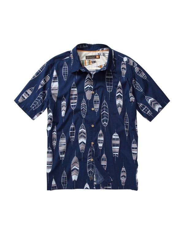 0 Men's Top Deck Short Sleeve Shirt  AQMWT00089 Quiksilver