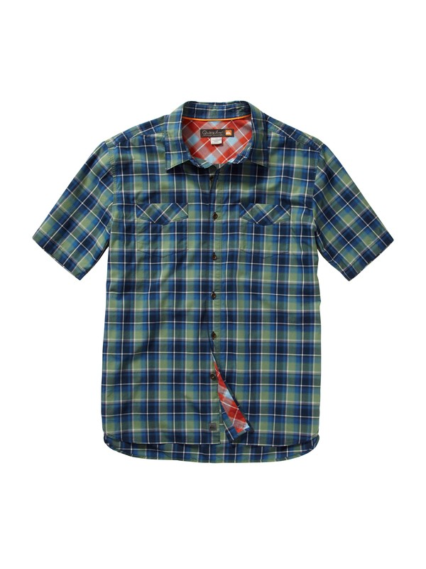 0 Men's Gulf Coast Short Sleeve Shirt  AQMWT00098 Quiksilver