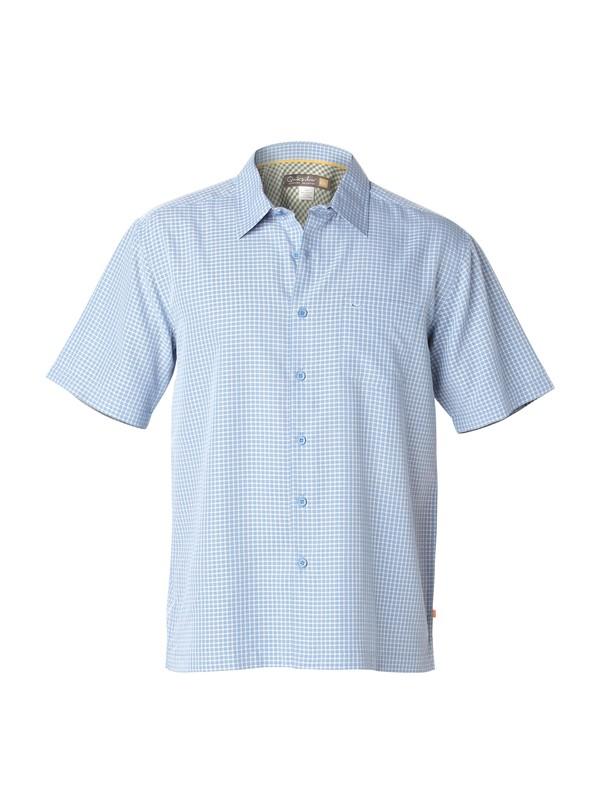 0 Men's Red Rock Cove Short Sleeve Shirt  AQMWT00103 Quiksilver