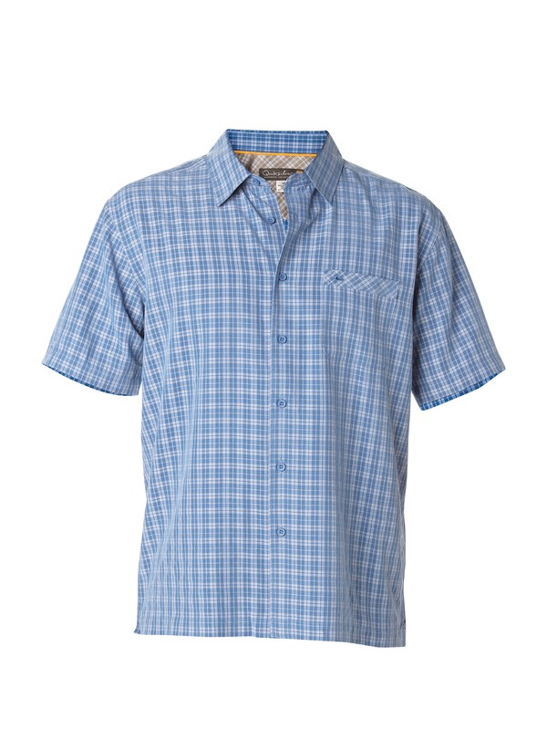 0 Men's Crescent Point Short Sleeve Shirt  AQMWT00104 Quiksilver