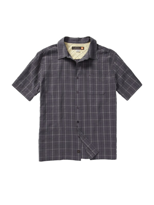 0 Men's Baracoa Coast Short Sleeve Shirt  AQMWT00105 Quiksilver