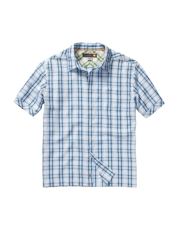 0 Men's Seal Rocks Short Sleeve Shirt  AQMWT00107 Quiksilver