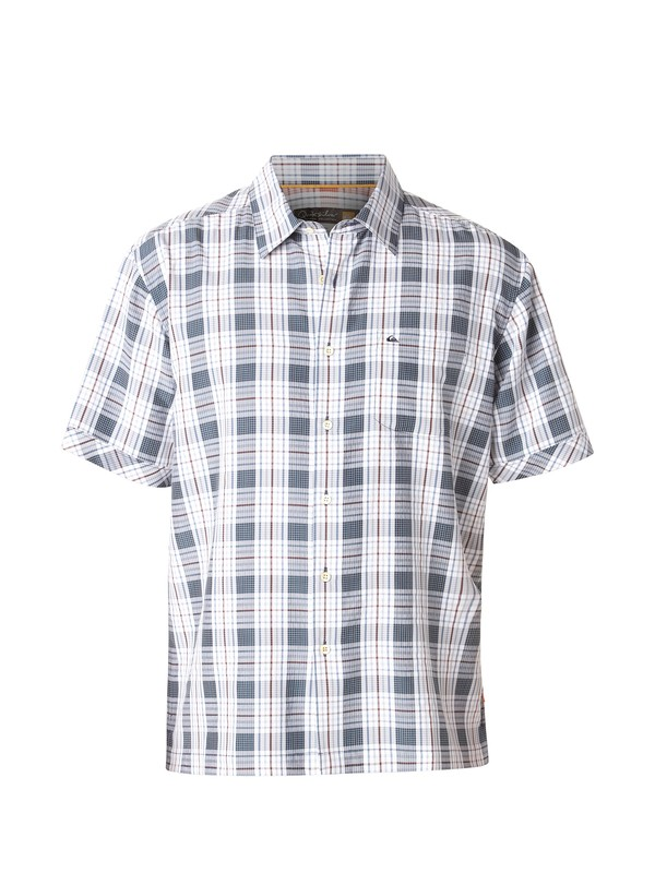 0 Men's Isla Boca Short Sleeve Shirt  AQMWT00125 Quiksilver