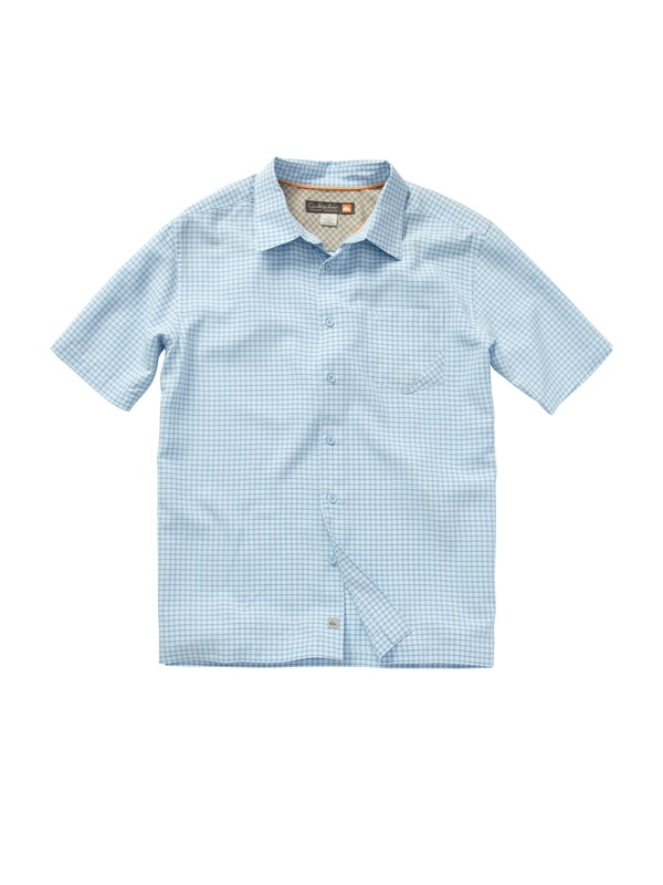 0 Men's Pavones Short Sleeve Shirt  AQMWT00127 Quiksilver