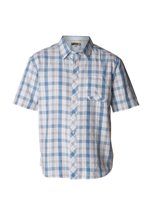 0 Men's Shelter Bay Short Sleeve Shirt  AQMWT00129 Quiksilver