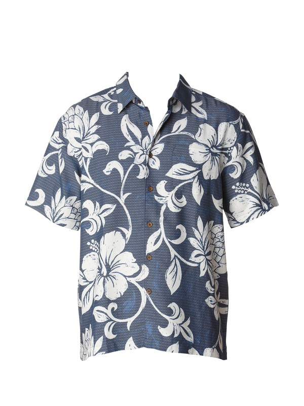 0 Men's Pareo Cove Short Sleeve Shirt  AQMWT00141 Quiksilver