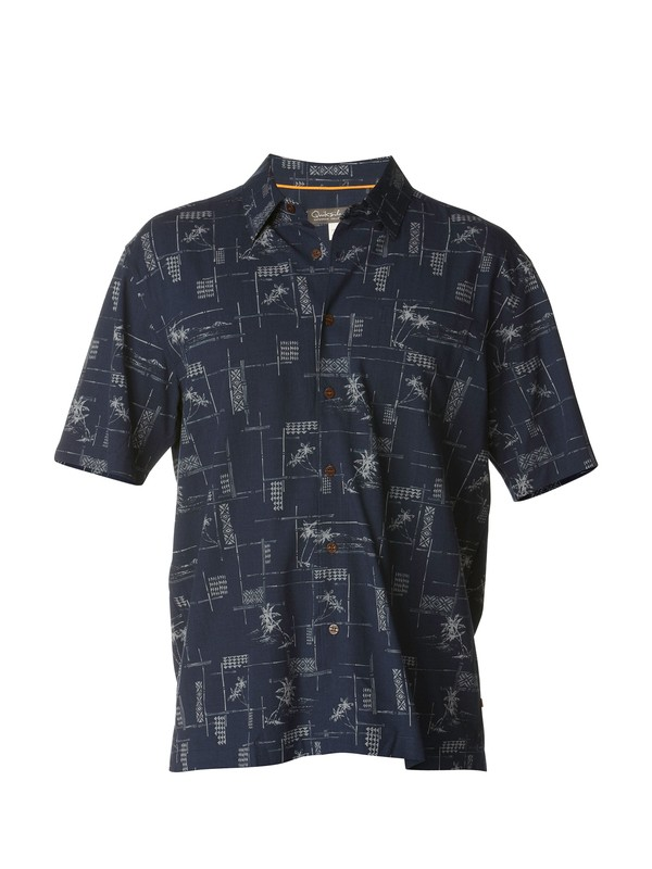 0 Men's Bayview Short Sleeve Shirt  AQMWT00153 Quiksilver