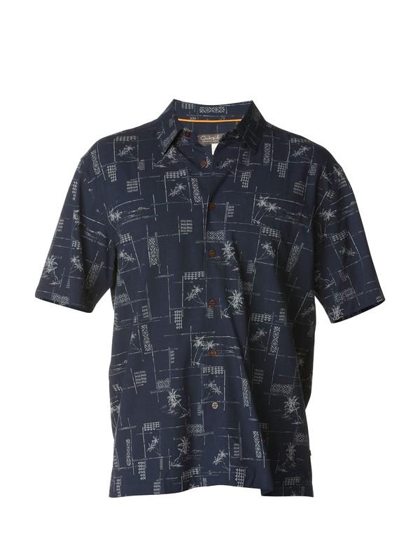 0 Men's Bayview Short Sleeve Shirt  AQMWT00153 Quiksilver