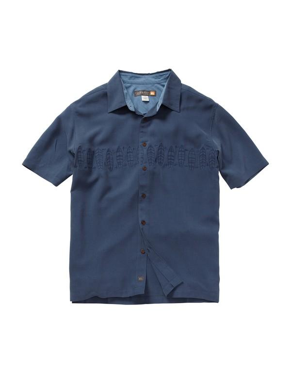0 Men's Kamalo Short Sleeve Shirt  AQMWT00159 Quiksilver