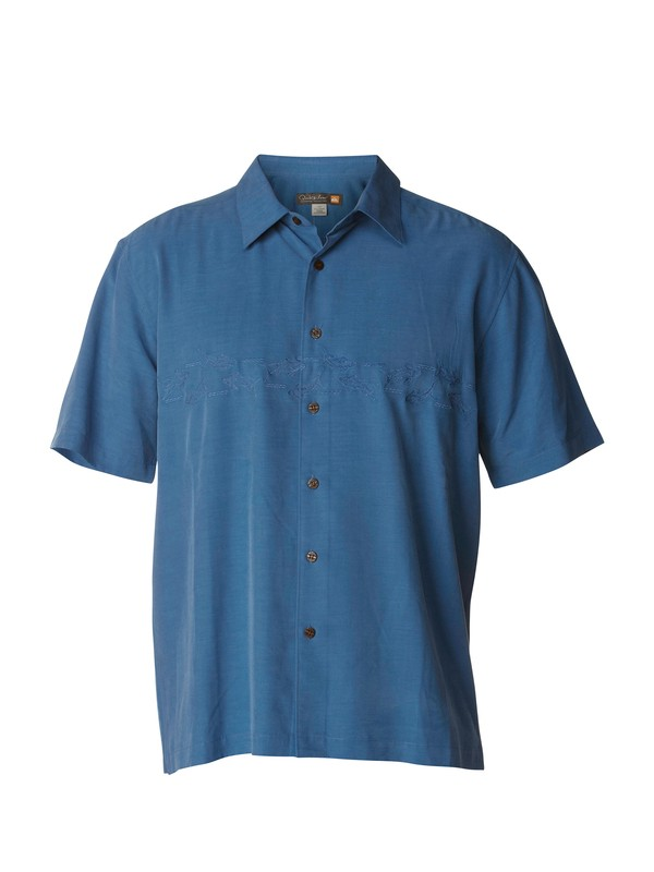 0 Men's Vero Beach Short Sleeve Shirt  AQMWT00160 Quiksilver