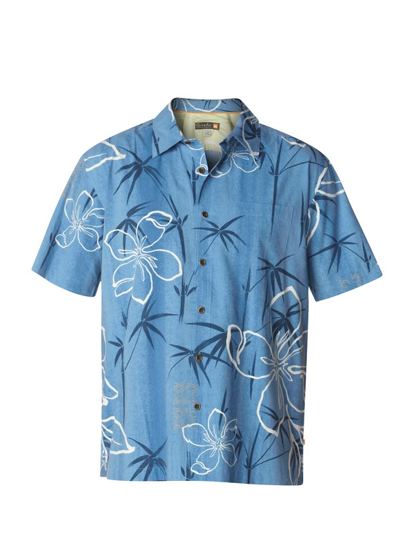 0 Men's Kalo Beach Short Sleeve Shirt  AQMWT03000 Quiksilver