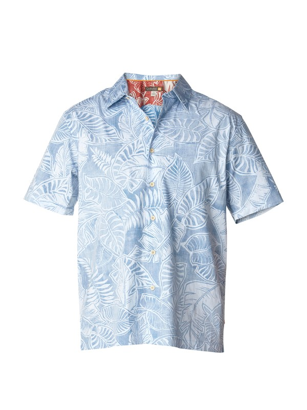 0 Men's Manoa Short Sleeve Shirt  AQMWT03002 Quiksilver