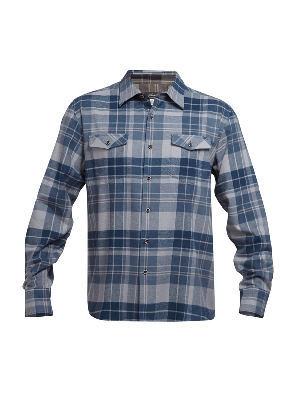 0 Men's Walker Lake Flannel Long Sleeve Shirt  AQMWT03016 Quiksilver