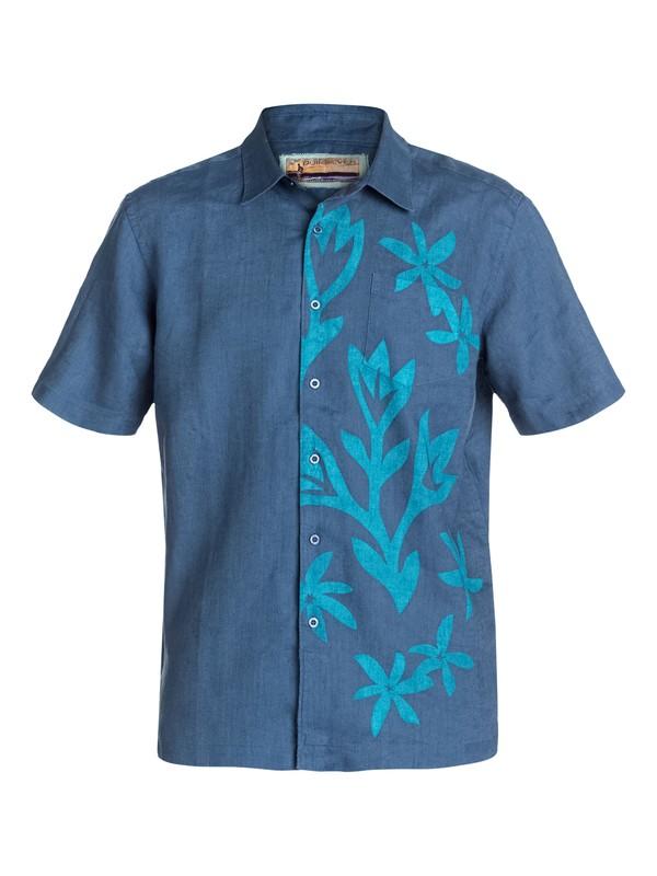 0 Men's Rai Short Sleeve Shirt  AQMWT03020 Quiksilver