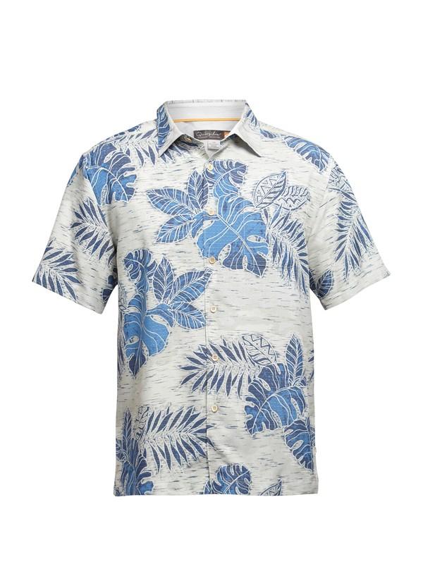 0 Men's Black Rock Cove Short Sleeve Shirt  AQMWT03031 Quiksilver