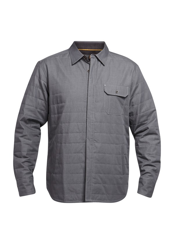 0 Men's Greenport Long Sleeve Shirt  AQMWT03034 Quiksilver
