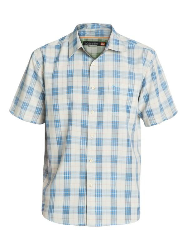0 Men's North Avalon Short Sleeve Shirt  AQMWT03036 Quiksilver