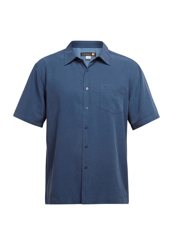 0 Men's Clear Days Short Sleeve Shirt  AQMWT03041 Quiksilver