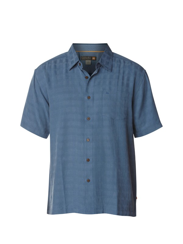 0 Men's Whitecliff Short Sleeve Shirt  AQMWT03044 Quiksilver