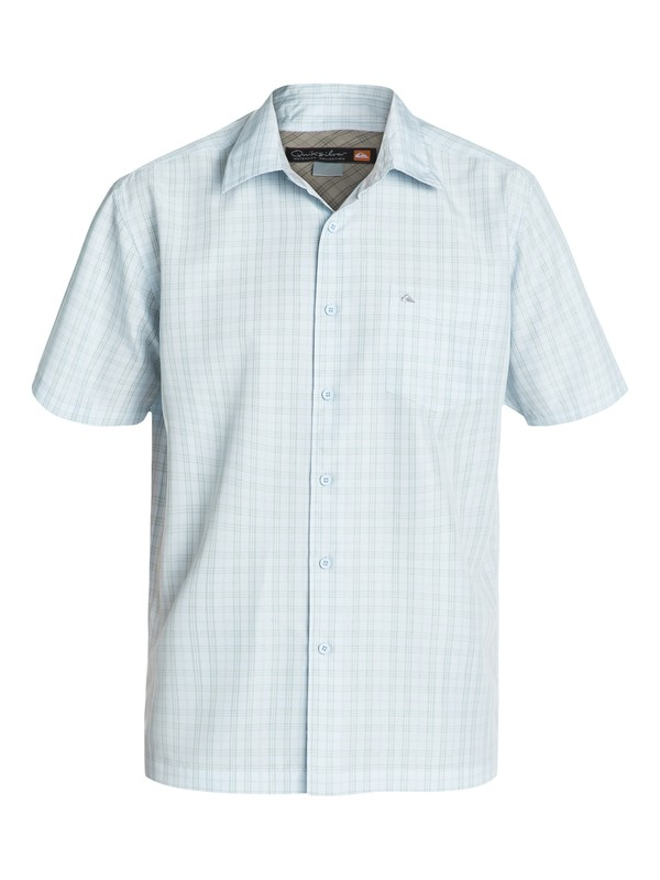 0 Mens Rockingham Bay Short Sleeve Shirt  AQMWT03045 Quiksilver