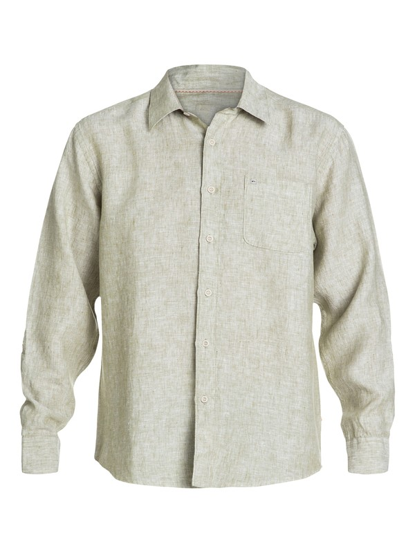 0 Mens Burgess Isle Long Sleeve Shirt  AQMWT03047 Quiksilver