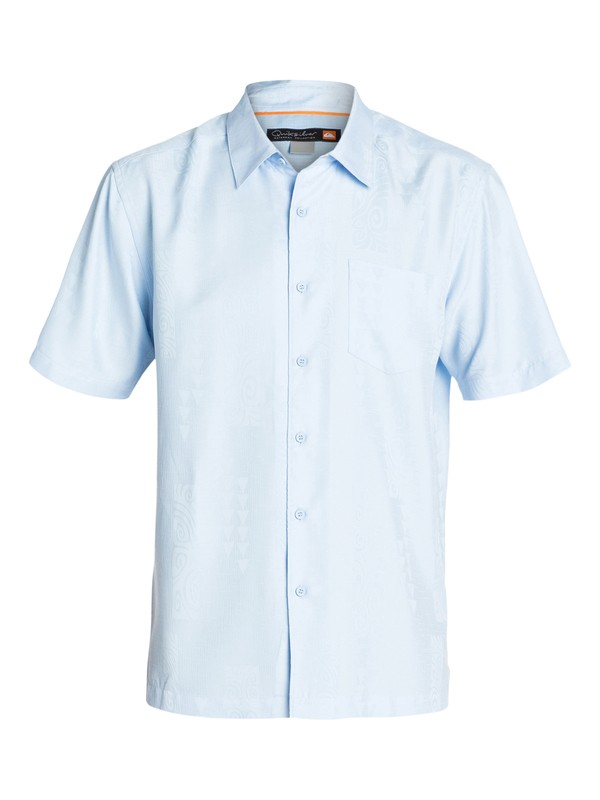 0 Men's La Paz Short Sleeve  Shirt  AQMWT03075 Quiksilver