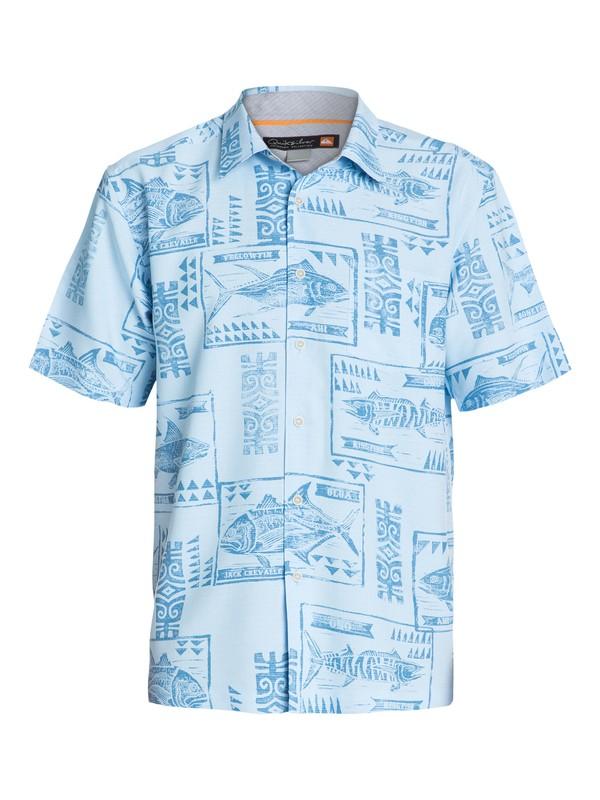 0 Mens La Pastora Short Sleeve Shirt  AQMWT03083 Quiksilver