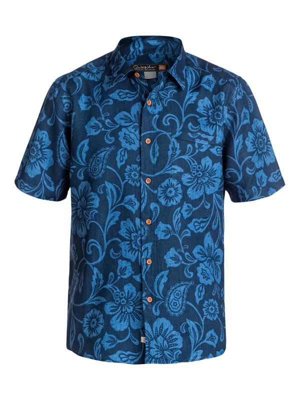 0 Men's Palm Coast Short Sleeve Shirt  AQMWT03087 Quiksilver
